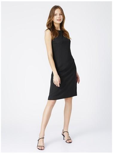 Selen Selen Kadın Siyah Düz Elbise Siyah